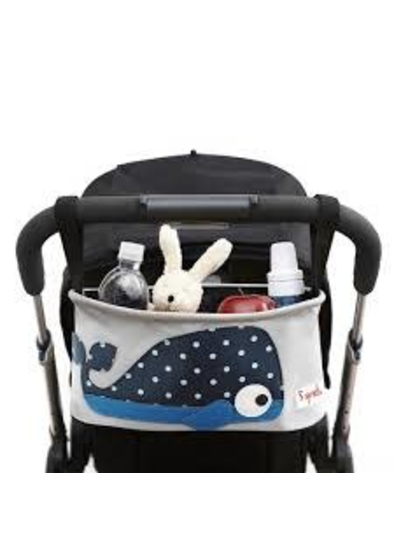 3 sprouts Stroller Organizer (Whale)