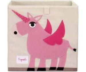 3 Sprouts Storage Box (unicorn)