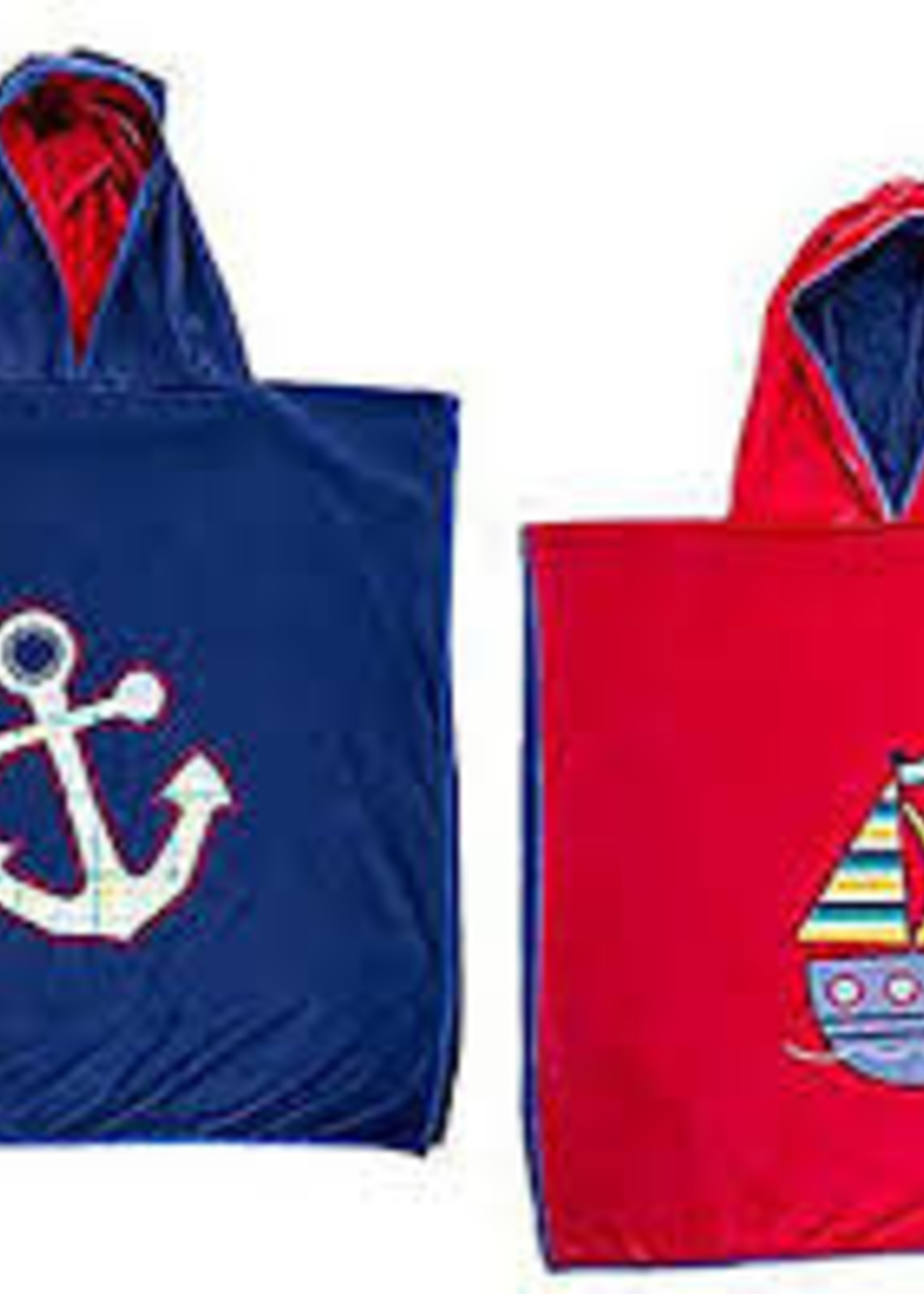 flapjack Cover-up Anchor/Sailboat