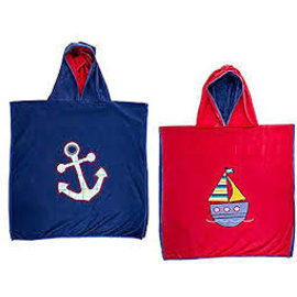 Flapjack Kids Cover-up Anchor/Sailboat