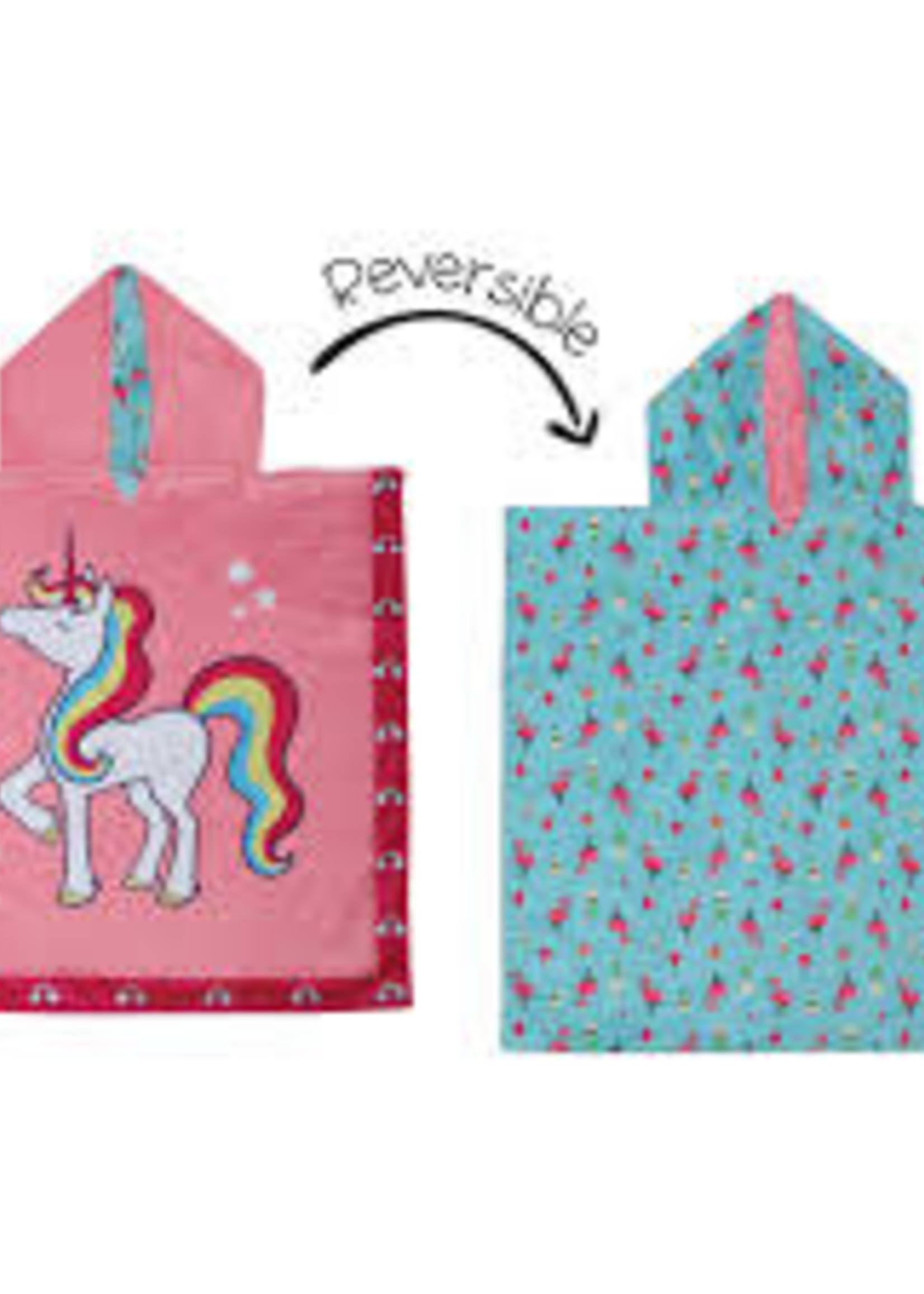 flapjack Cover-up Unicorn/Tropical