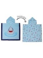 Flapjack Kids Cover-up Shark/Nautical