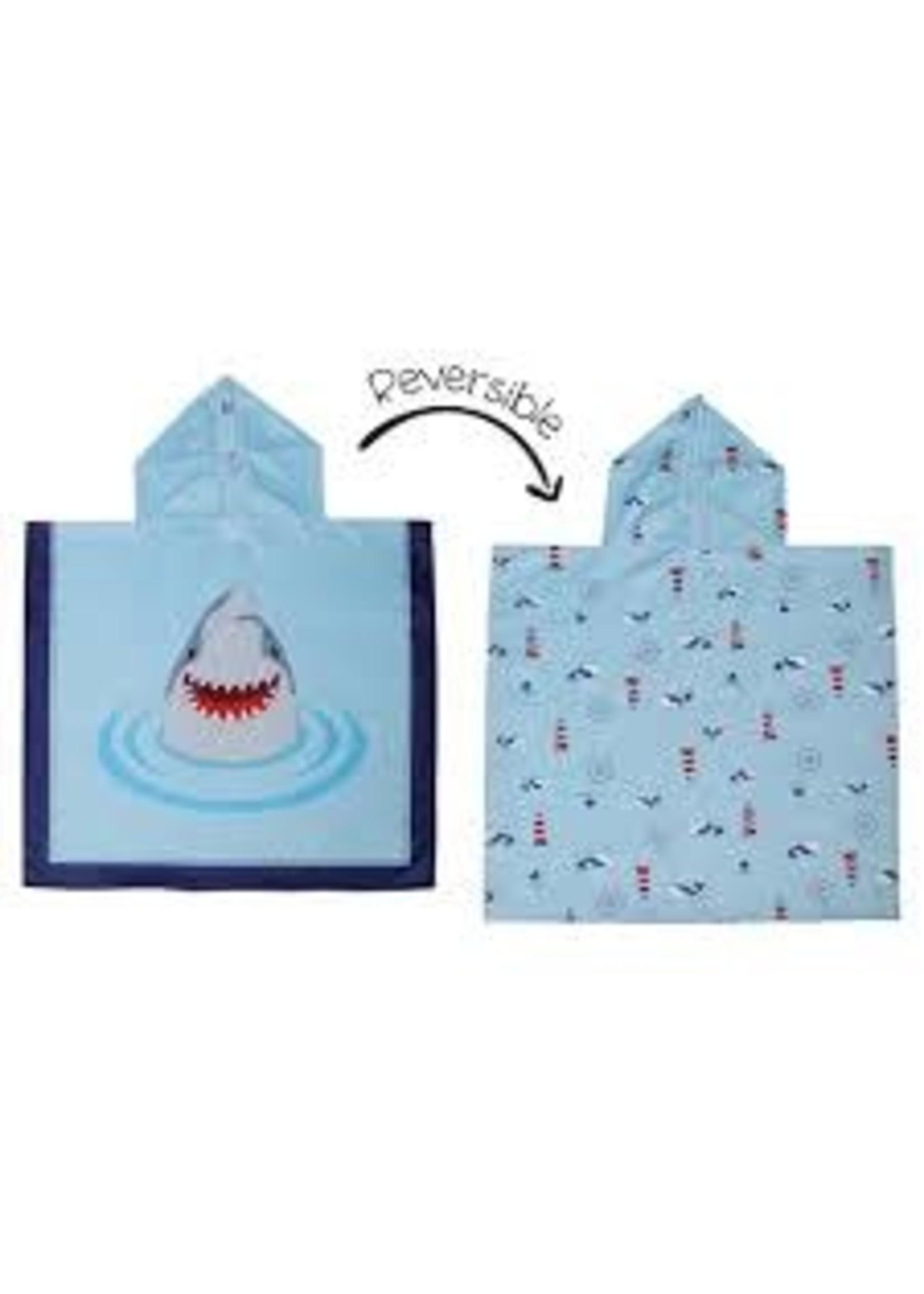 flapjack Cover-up Shark/Nautical