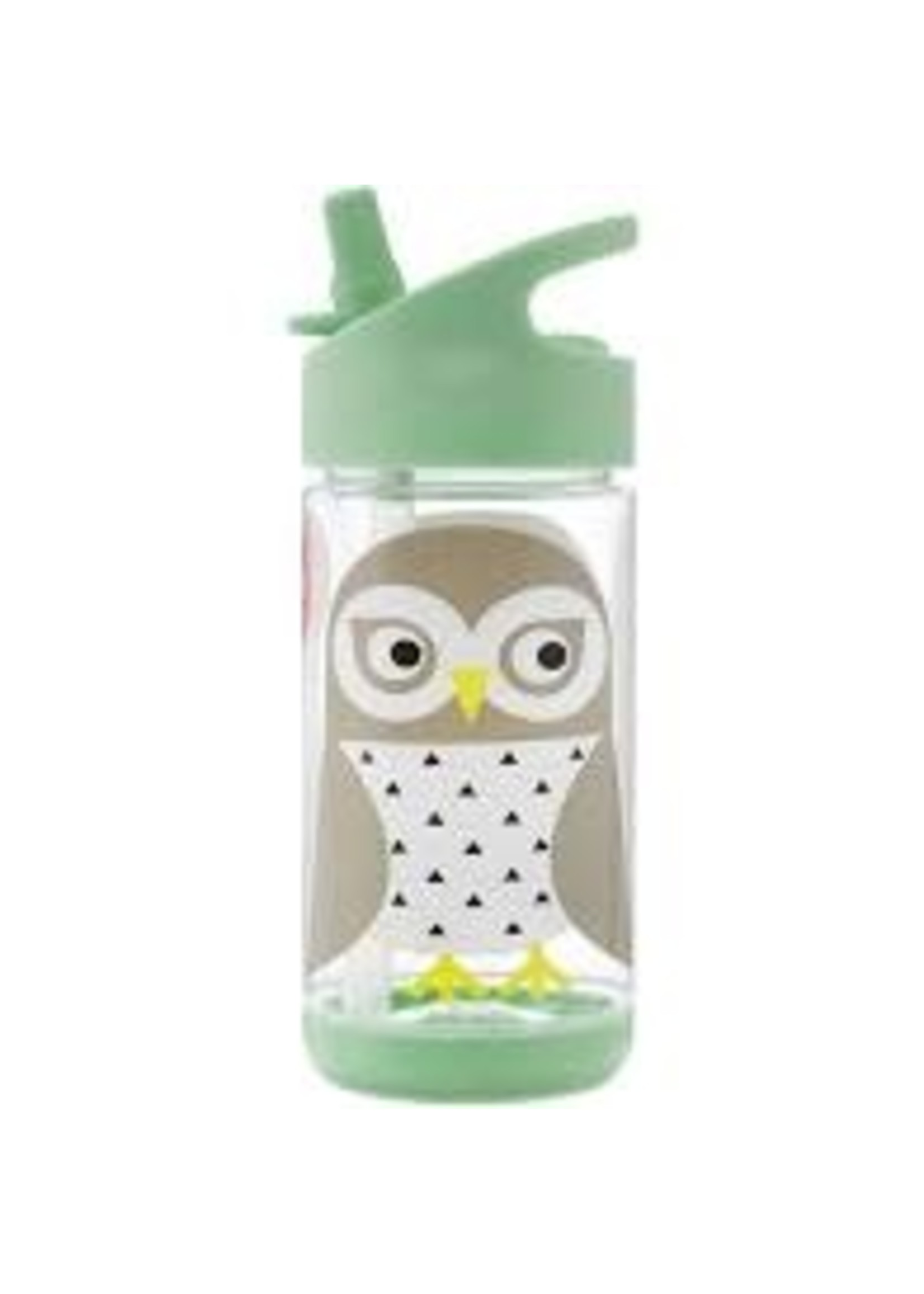 3 sprouts 3sprout straw Water Bottle (Owl)