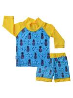 jan & jul Jan & Jul Swim Shirt & Short Set (Pineapple)