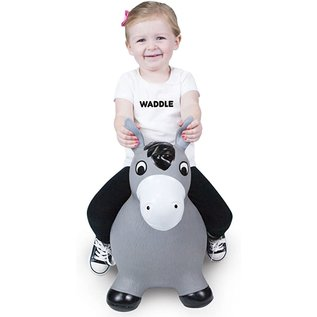 Waddle Bouncy Ride On Horse (Grey)
