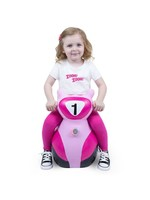 Waddle Waddle Bouncy Ride On Scooter (Pink)