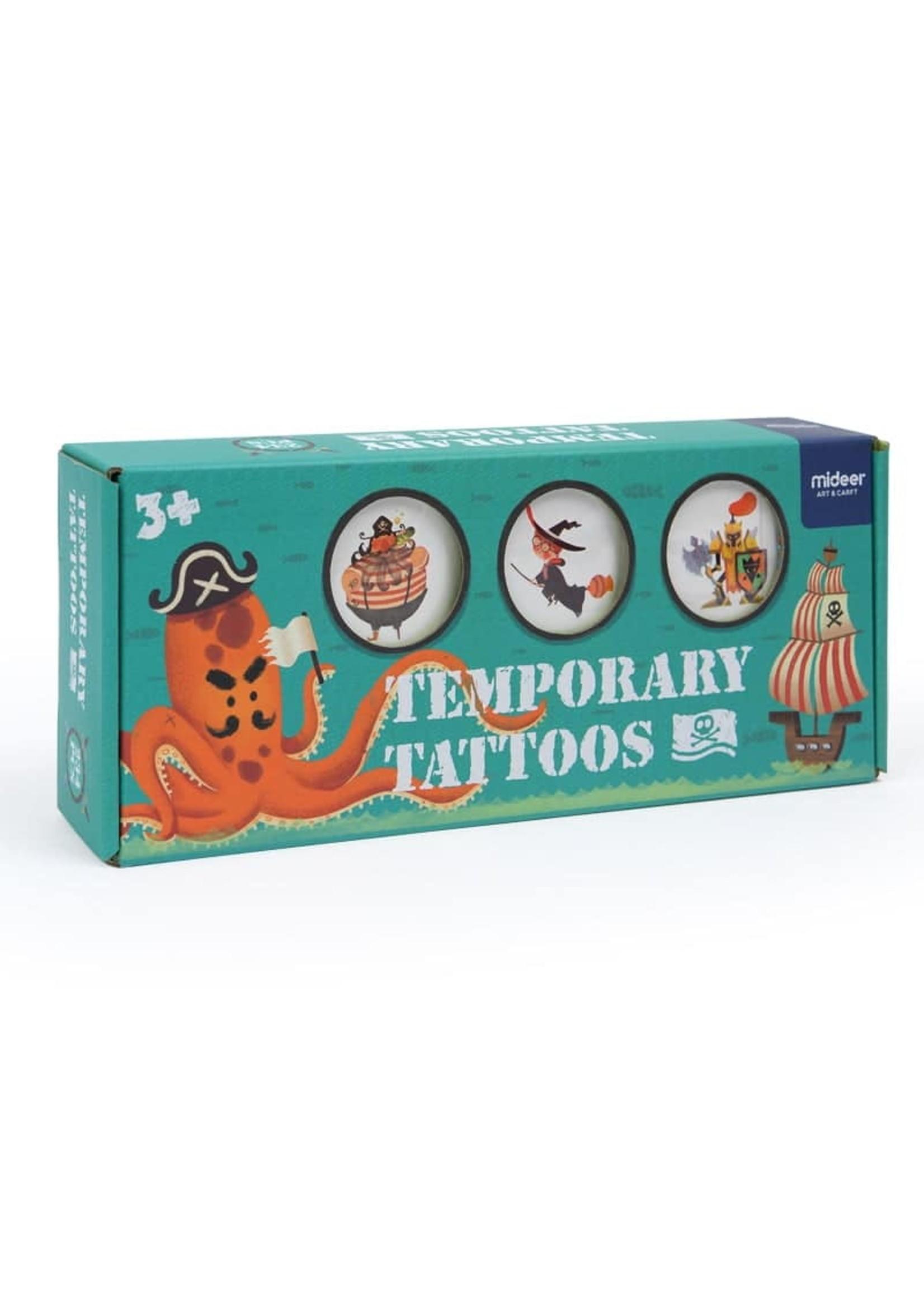 Mideer Mideer Boy Tattoos (Bon Voyage 234pc)