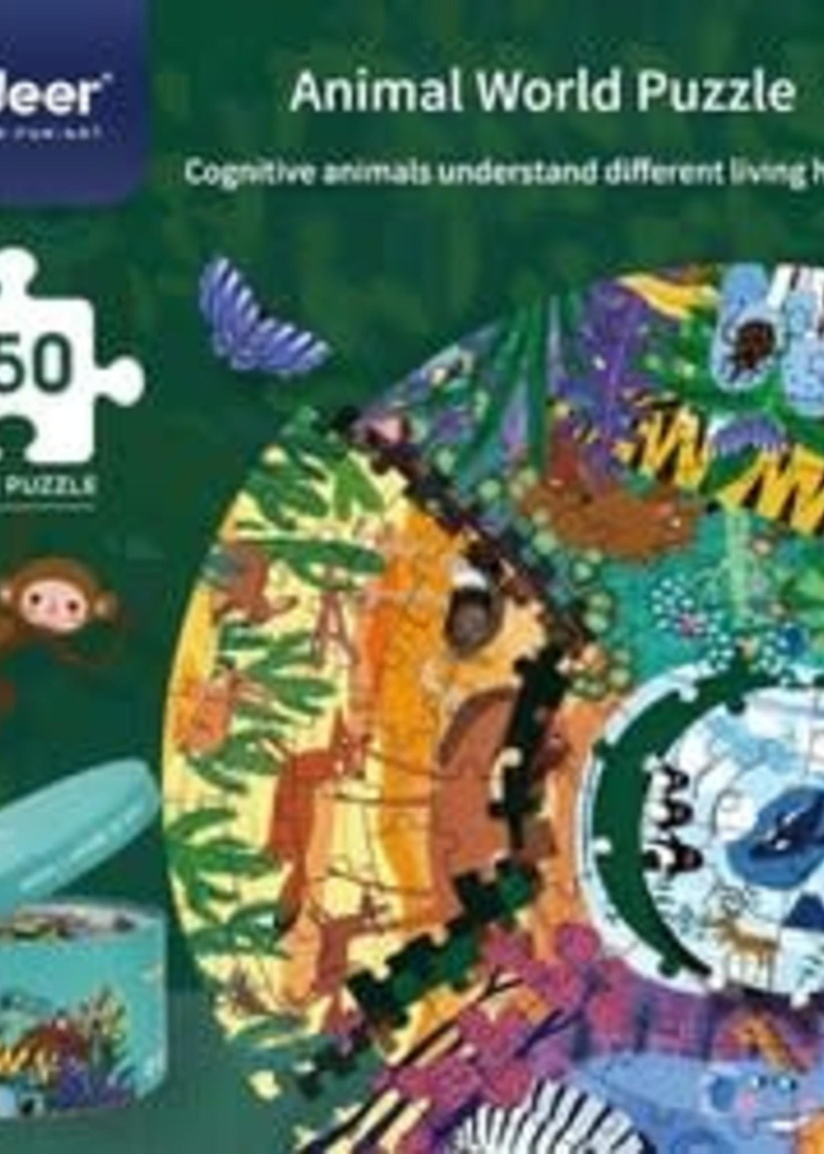 Mideer Mideer Animals Around World Puzzle (150pc)