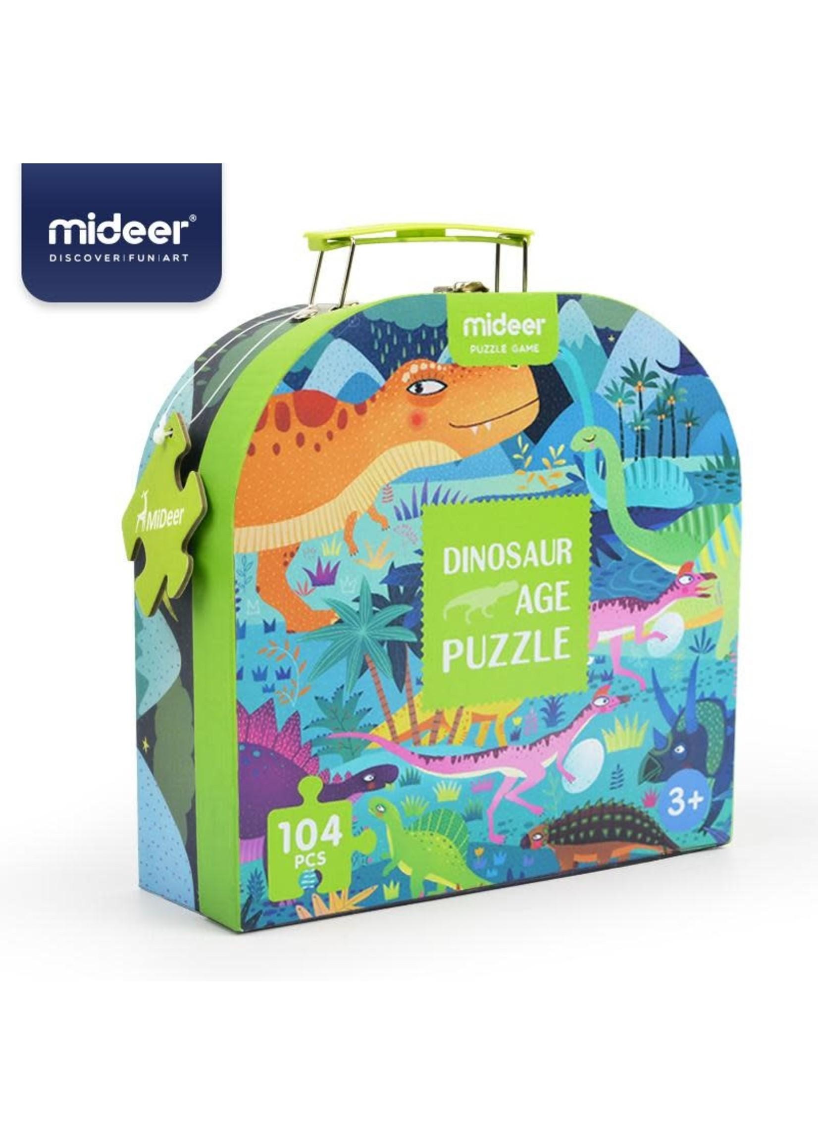 Mideer Mideer Dino Age Puzzle (104 pcs)