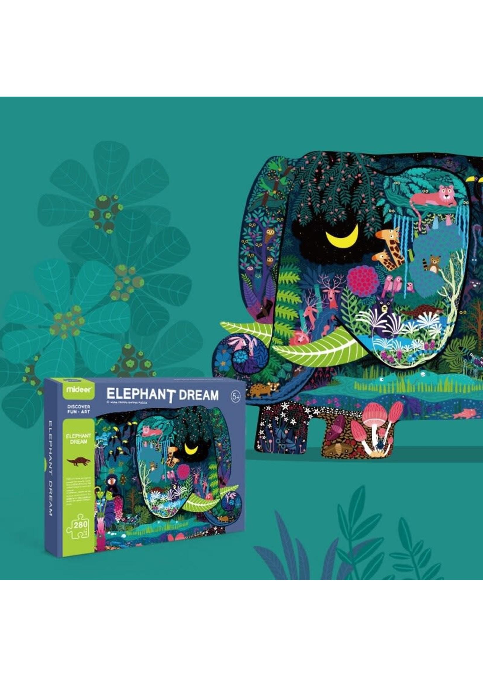 Mideer Mideer Elephant Dream Puzzle (280pc)