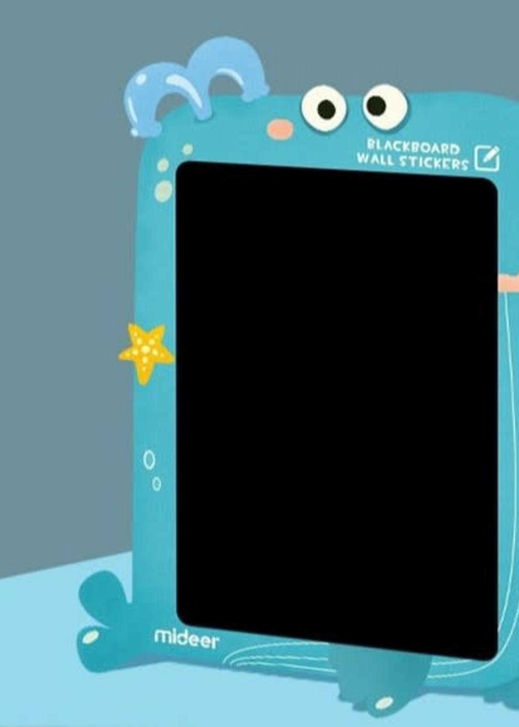 Mideer mideer blackboard whale