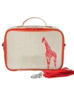 SoYoung SoYoung Insulated Lunchbag (Neon Orange Giraffe)