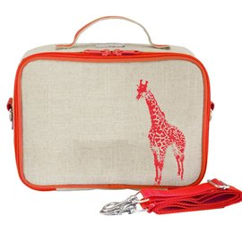 SoYoung SoYoung Insulated Lunchbag (Neon Orange Giraffe)