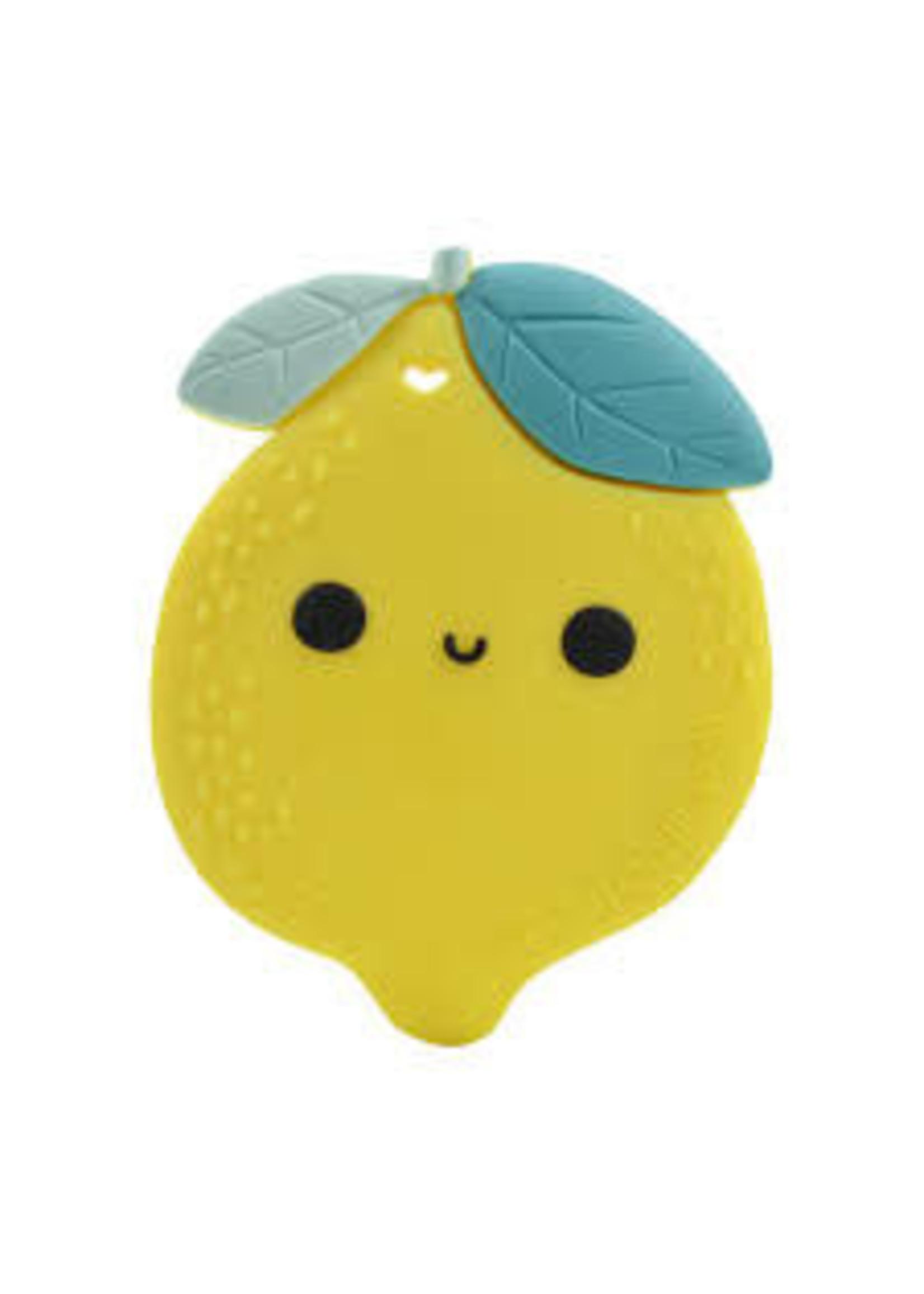 Loulou Lollipop Silicone Teether (Lemon)