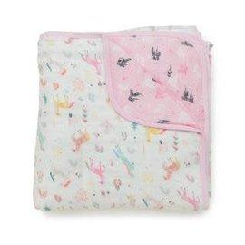 Loulou Lollipop Loulou Lollipop Muslin Blanket (Unicorn Dream)