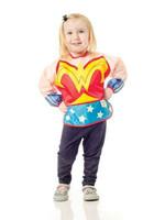 bumkins Bumkins Costume Sleeved Bib (Wonder Woman)