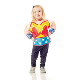 bumkins Bumkins Costume Sleeved Bib (Wonder Woman)