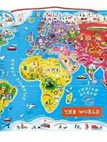 Janod Janod Magnetic World Puzzle Map