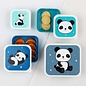 A Little Lovely Co. Little Lovely Lunch & Snack Box Set (Panda)