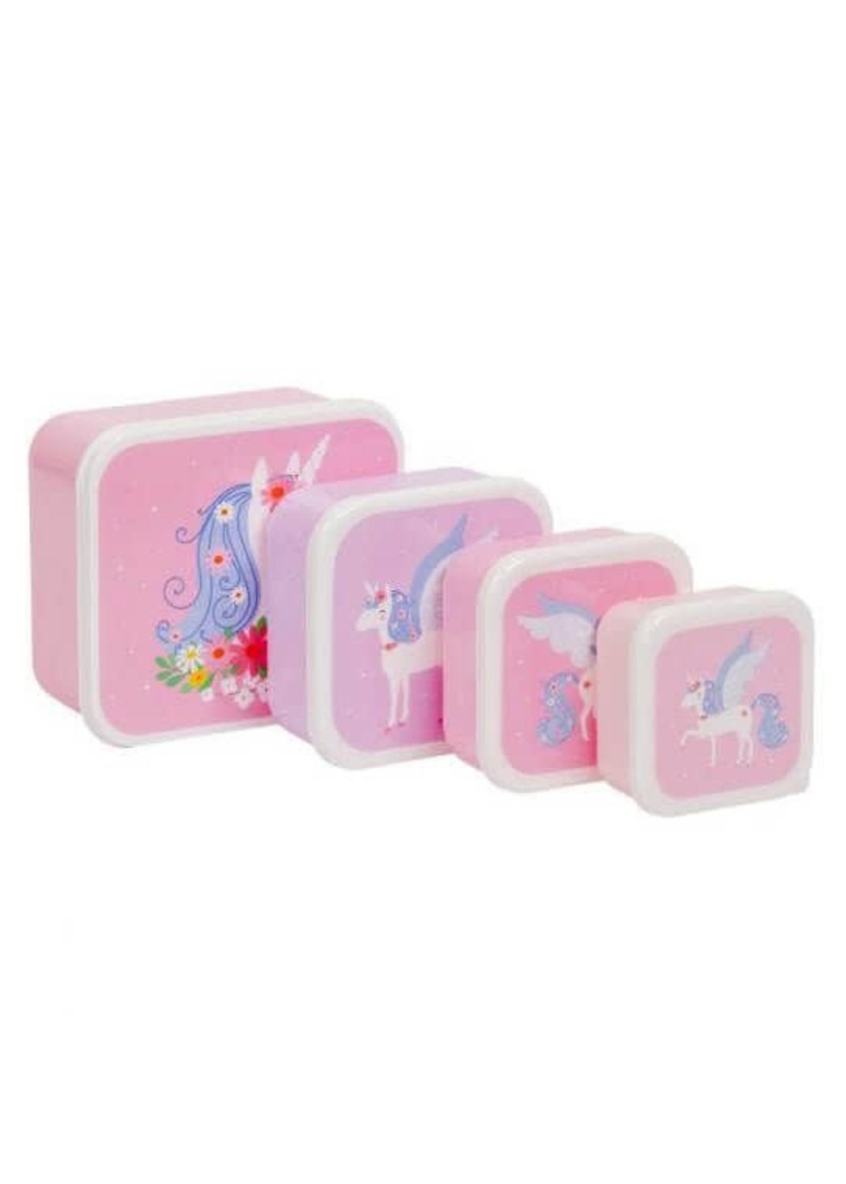 A Little Lovely Co. Little Lovely Lunch & Snack Box Set (Unicorn)