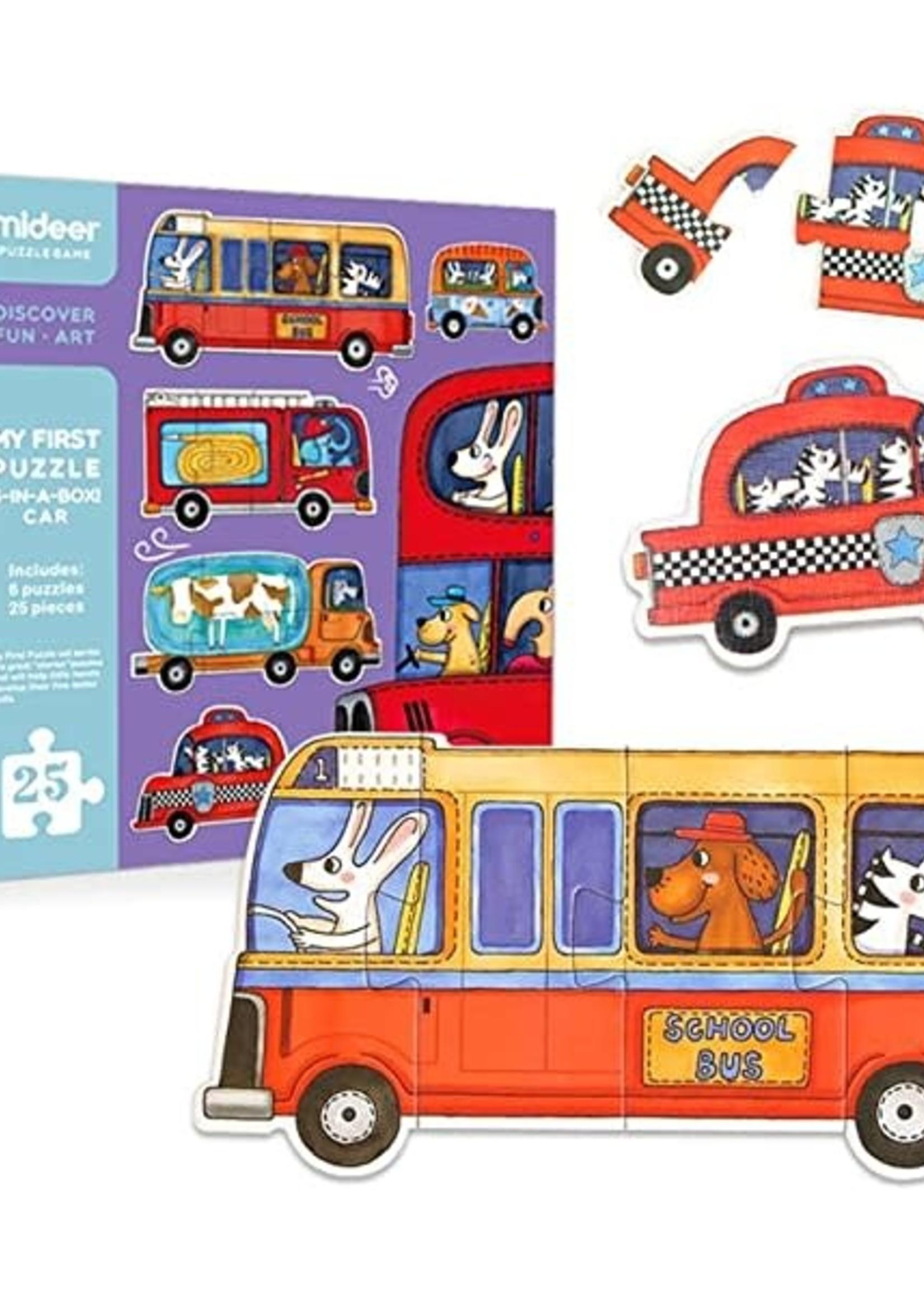 Mideer Mideer First Puzzle 6pk (Cars)