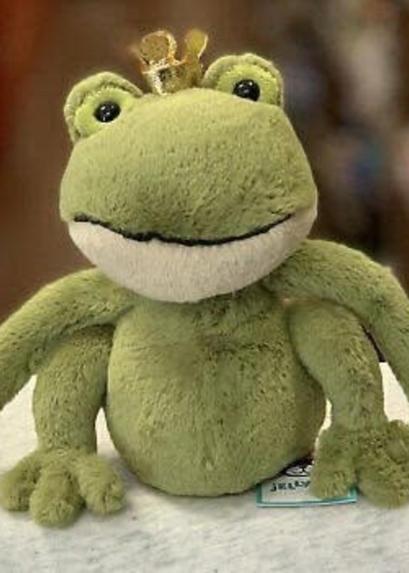 Jellycat JC Small Felipe Frog Prince