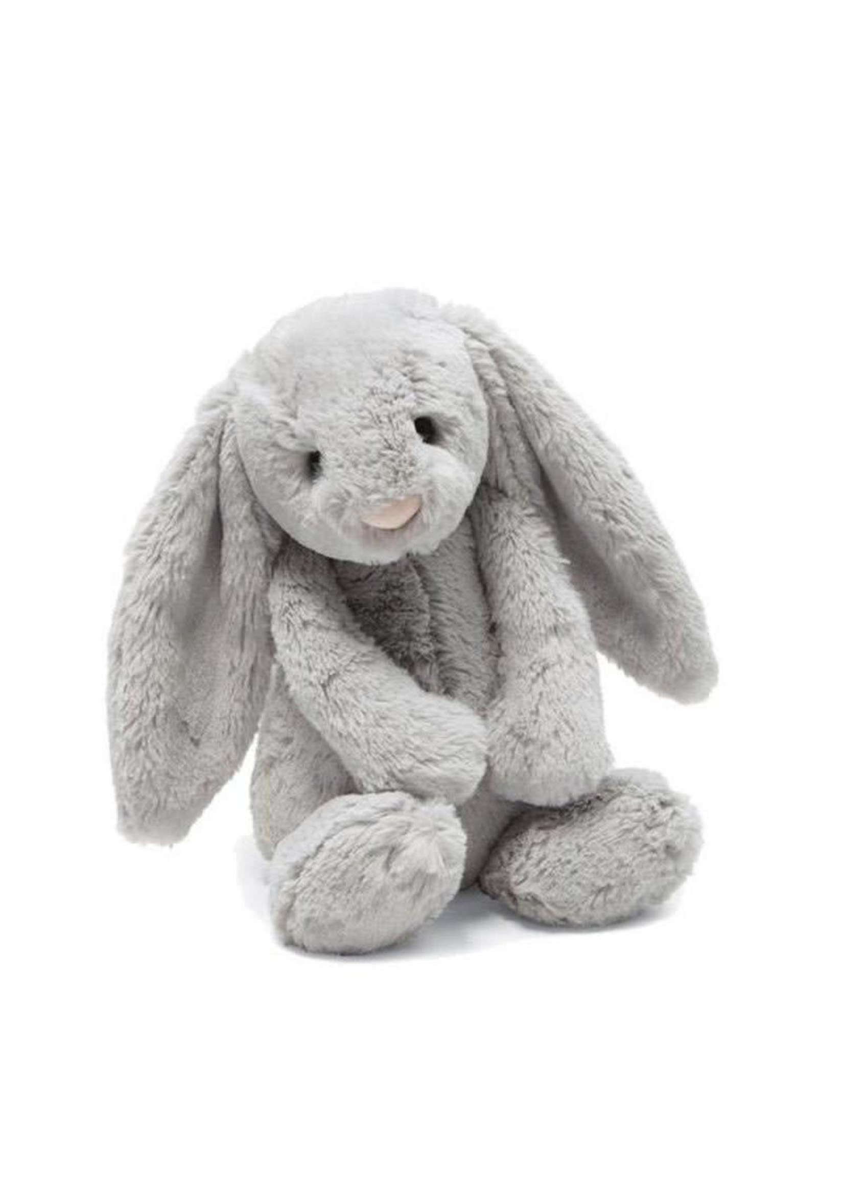 Jellycat JC Medium Bashful Grey Bunny