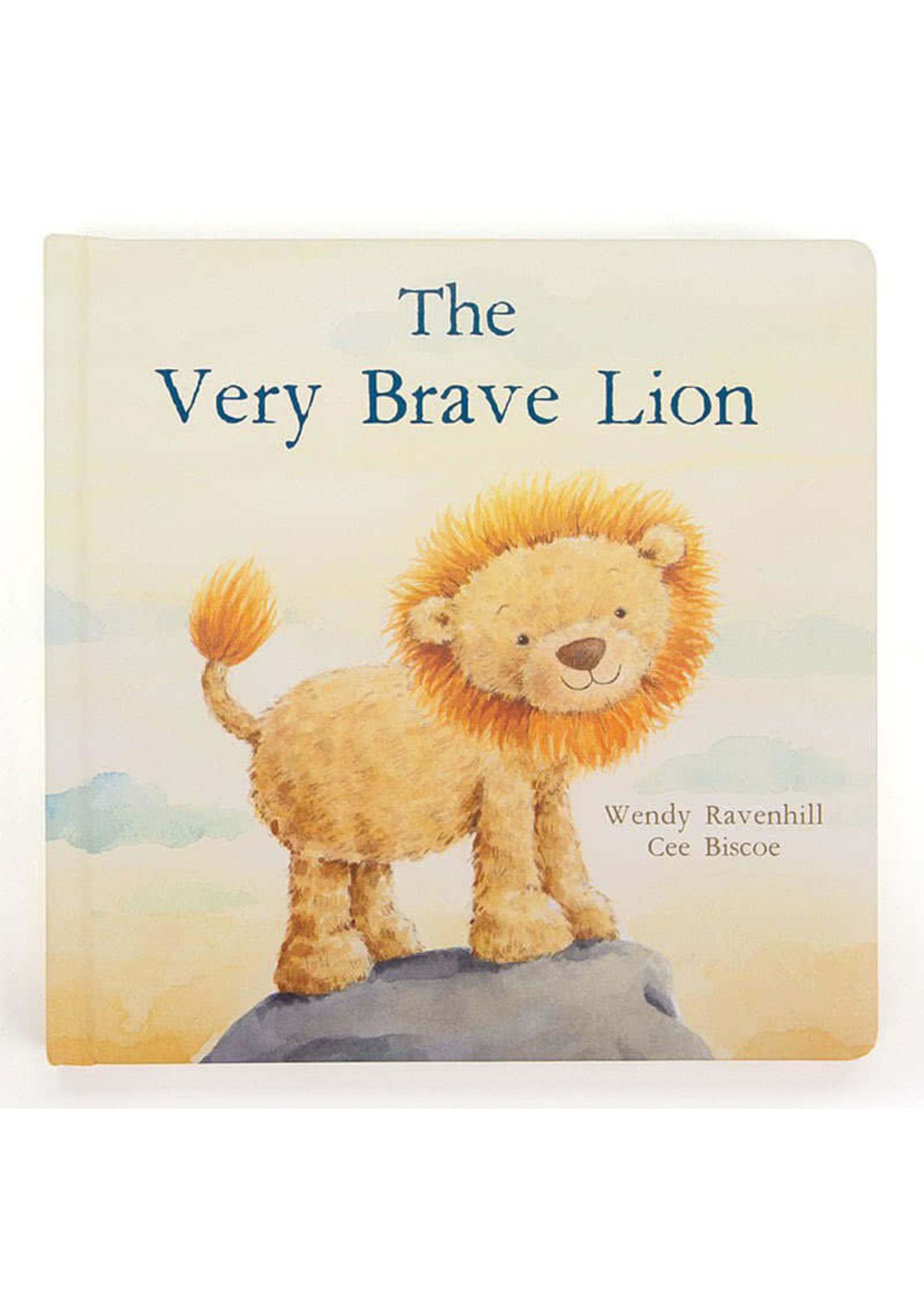 Jellycat JC The Very Brave Lion Book