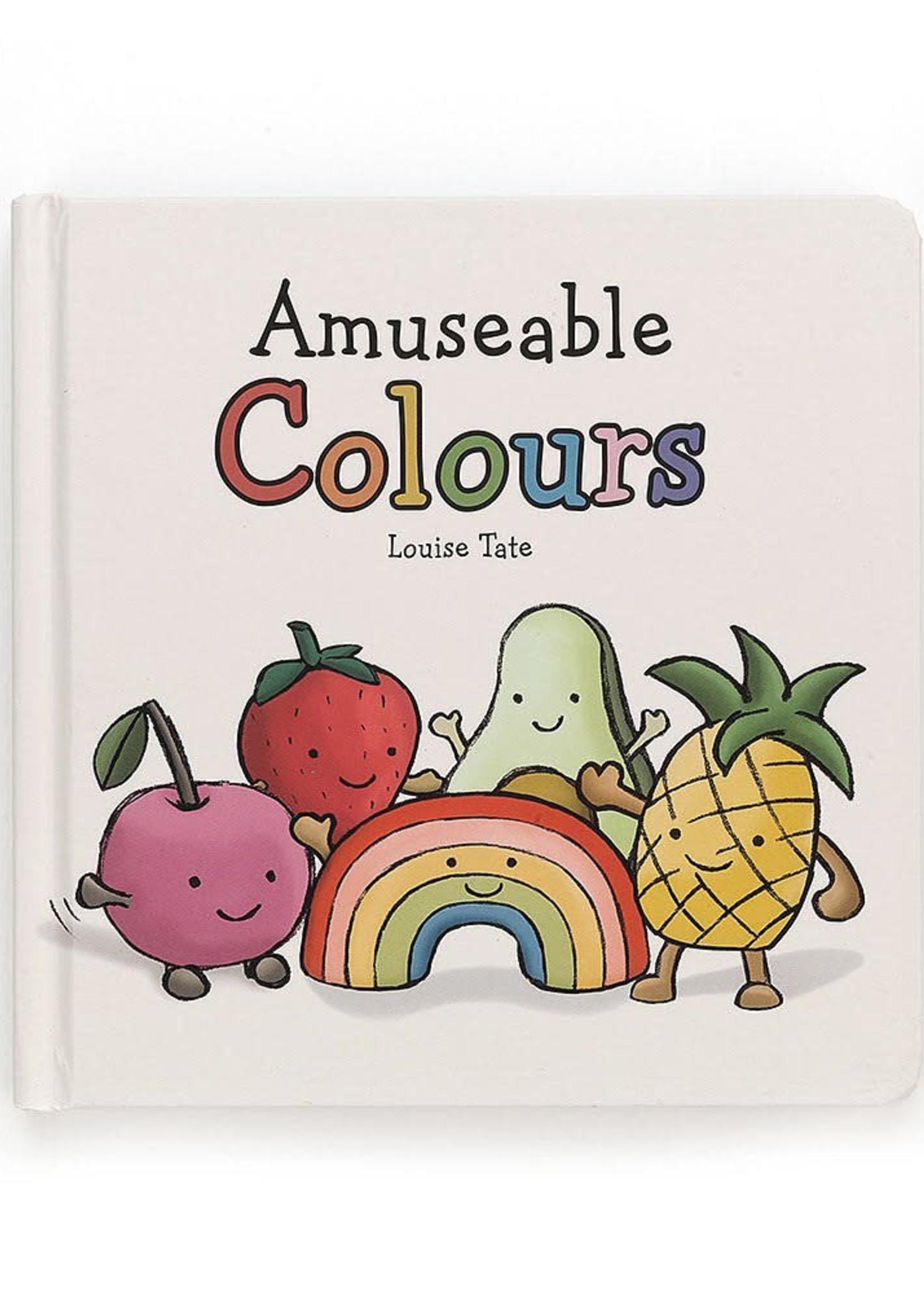 Jellycat JC Amuseable Colors Book