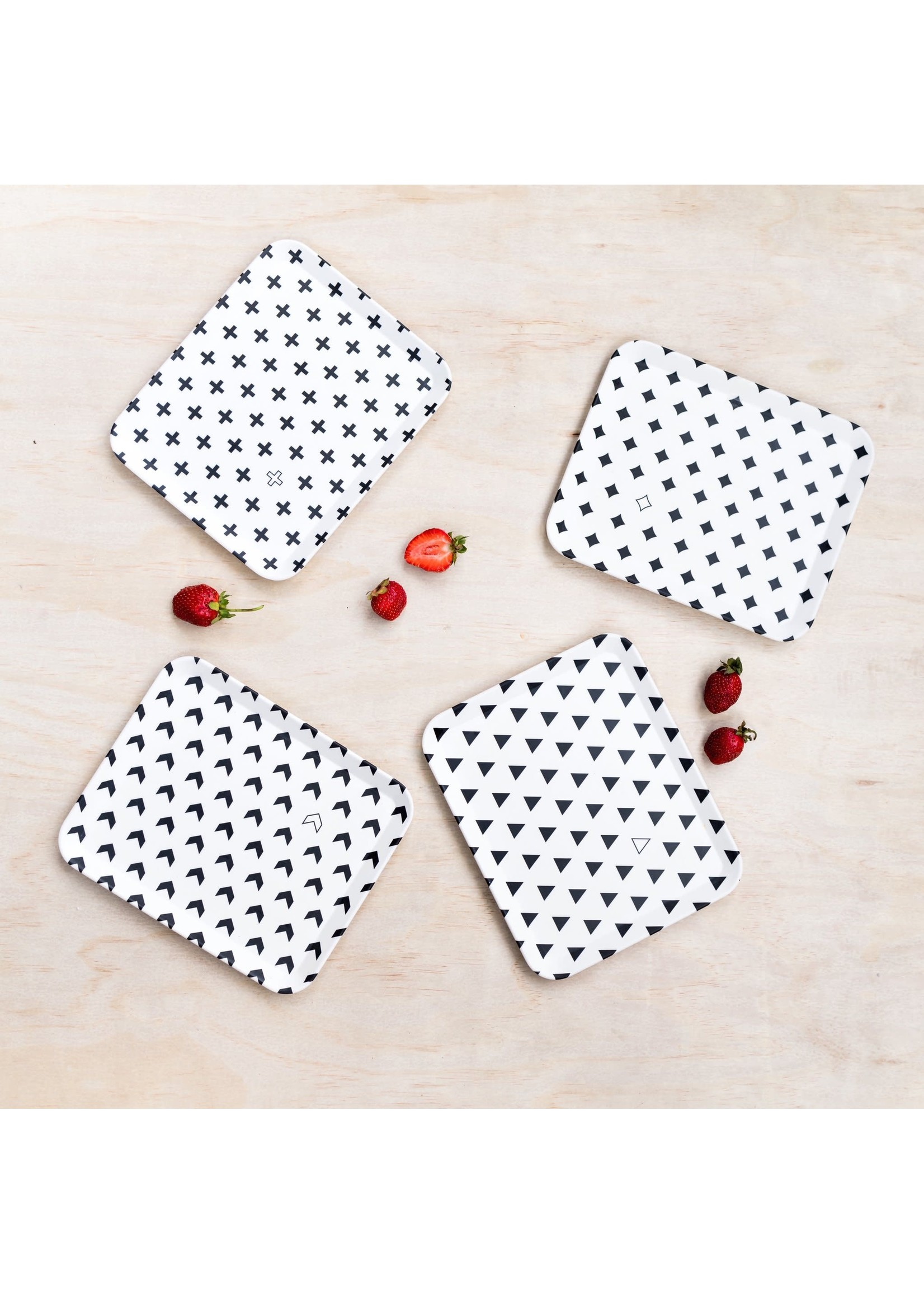 Young Lux Young Lux Bamboo Plate 4pk (Large)