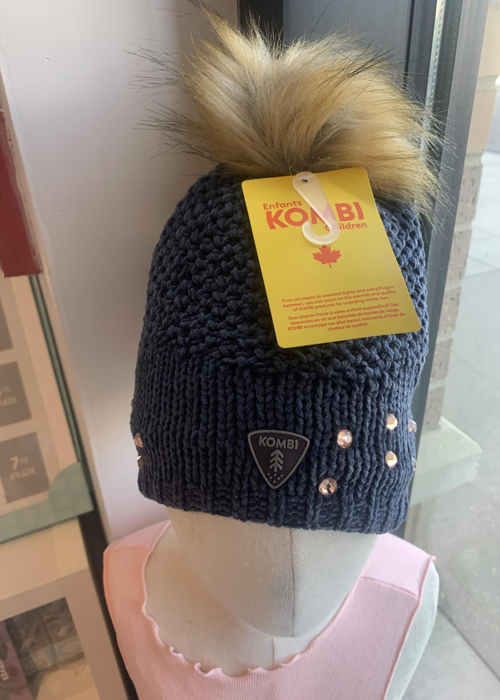 kombi Kombi Trendy Rhinestone Hat (2-6yr)