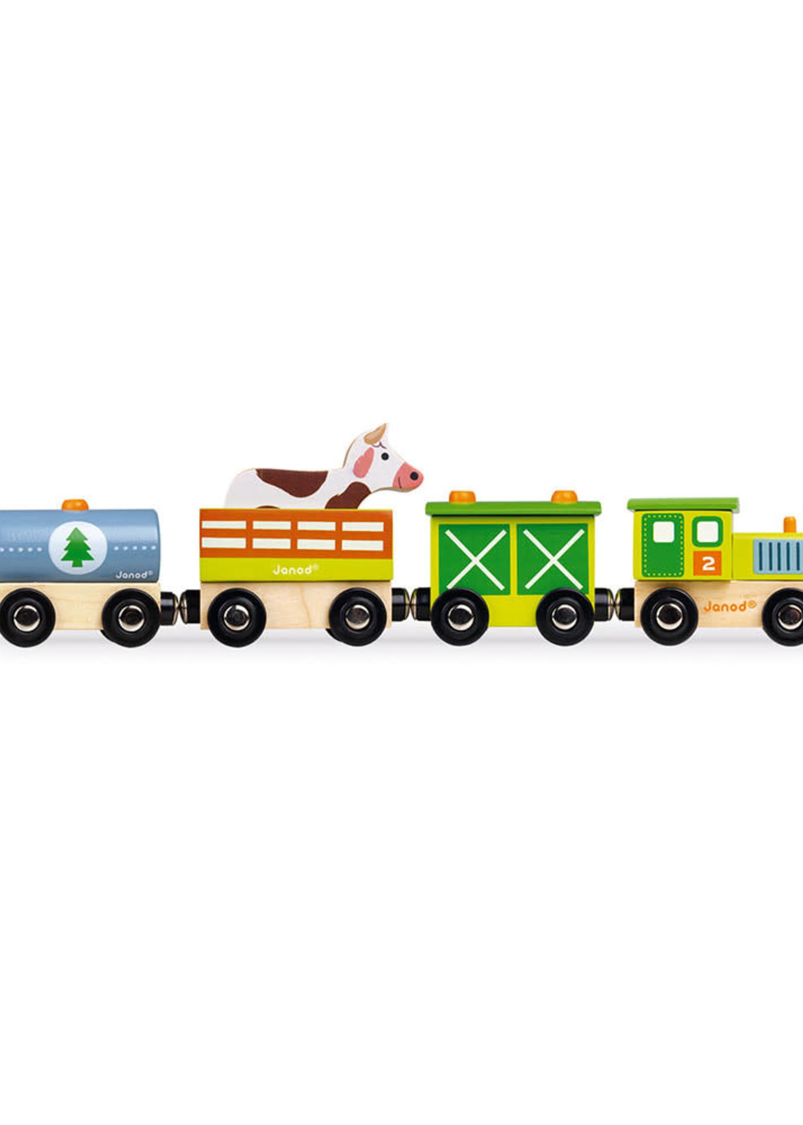 Janod Janod Magnetic Train (Farm)