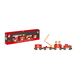 Janod Janod Magnetic Train (Firefighter)