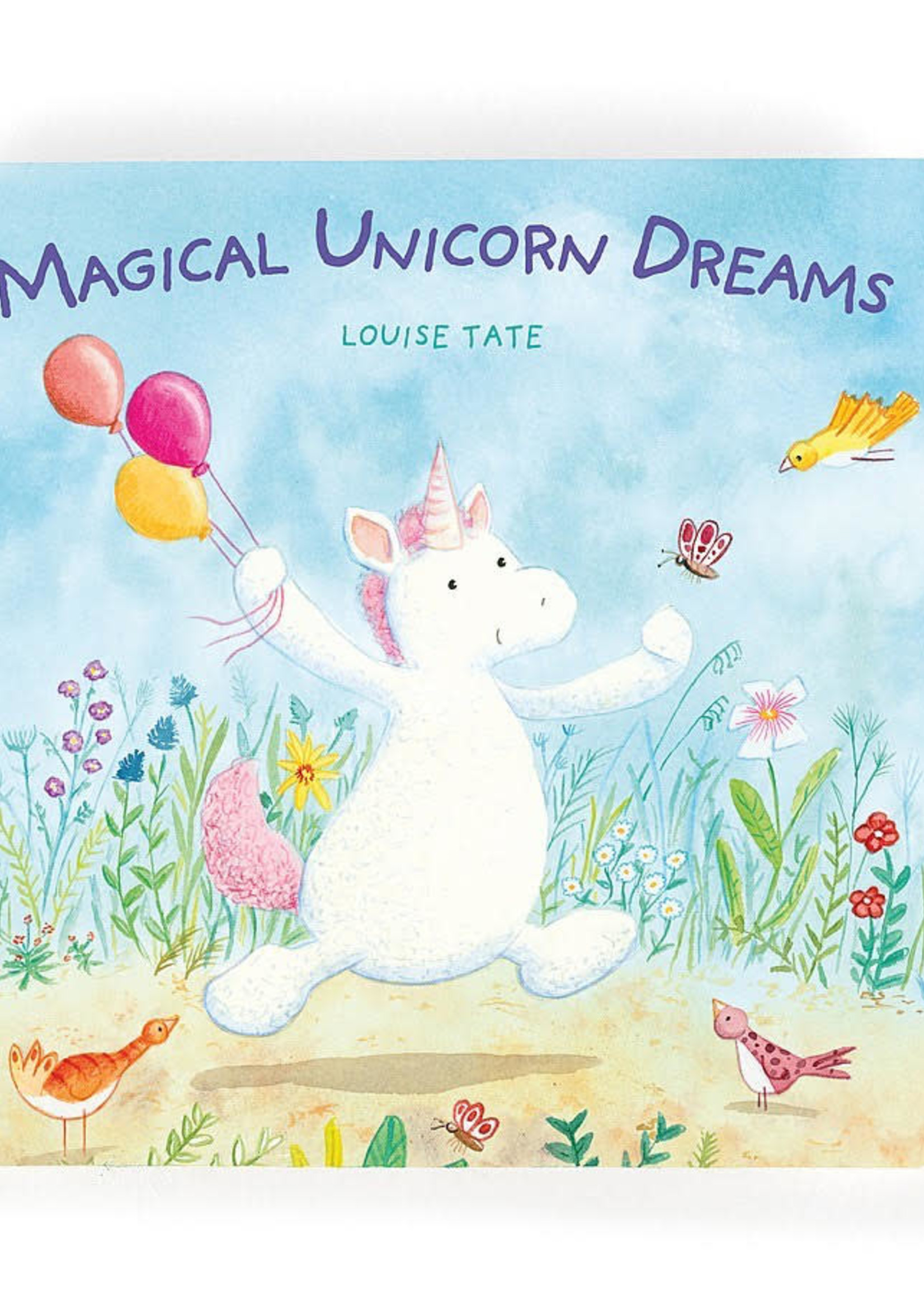 Jellycat JC Magical Unicorn Dreams Book