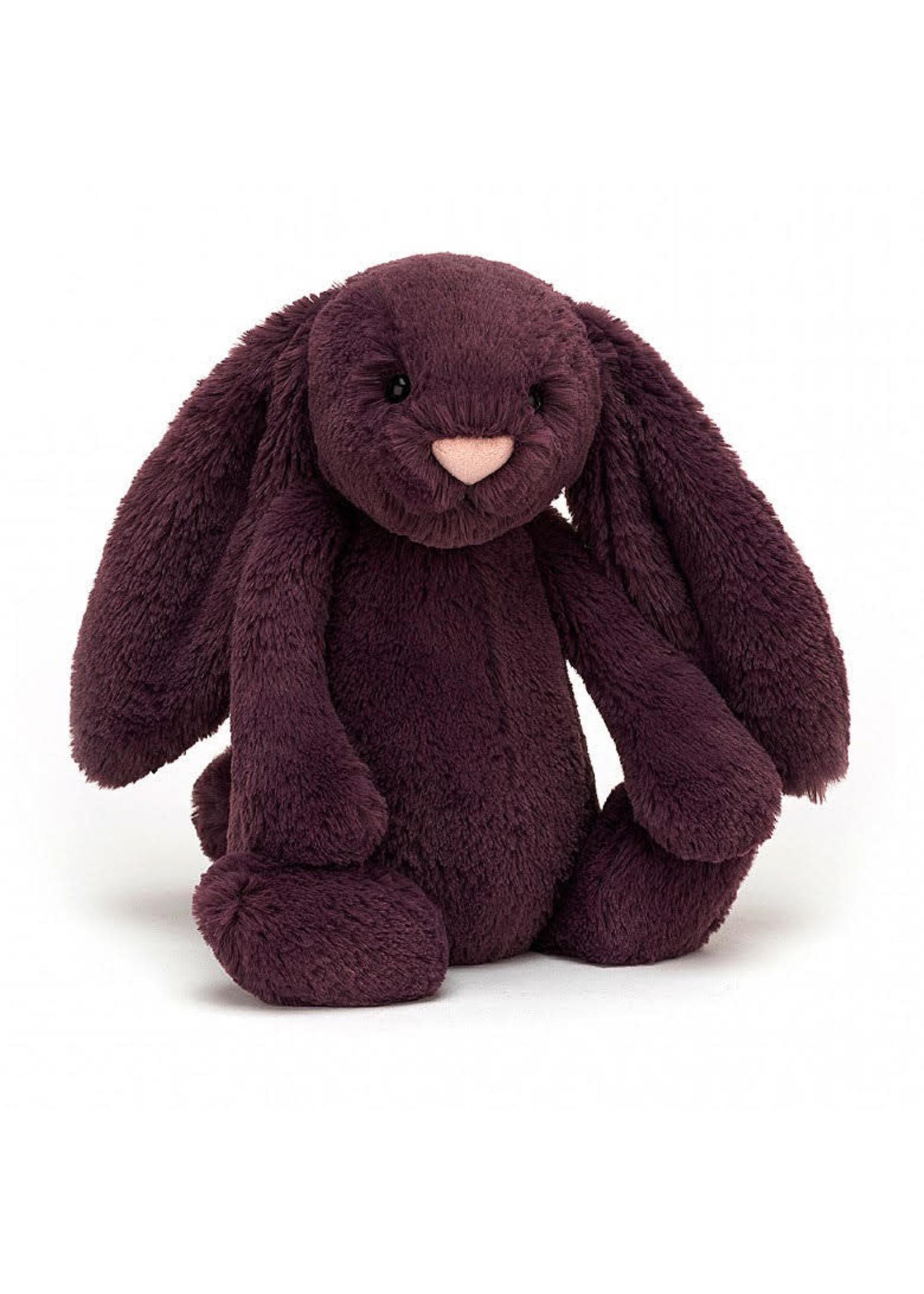 Jellycat JC Medium Bashful Plum Bunny