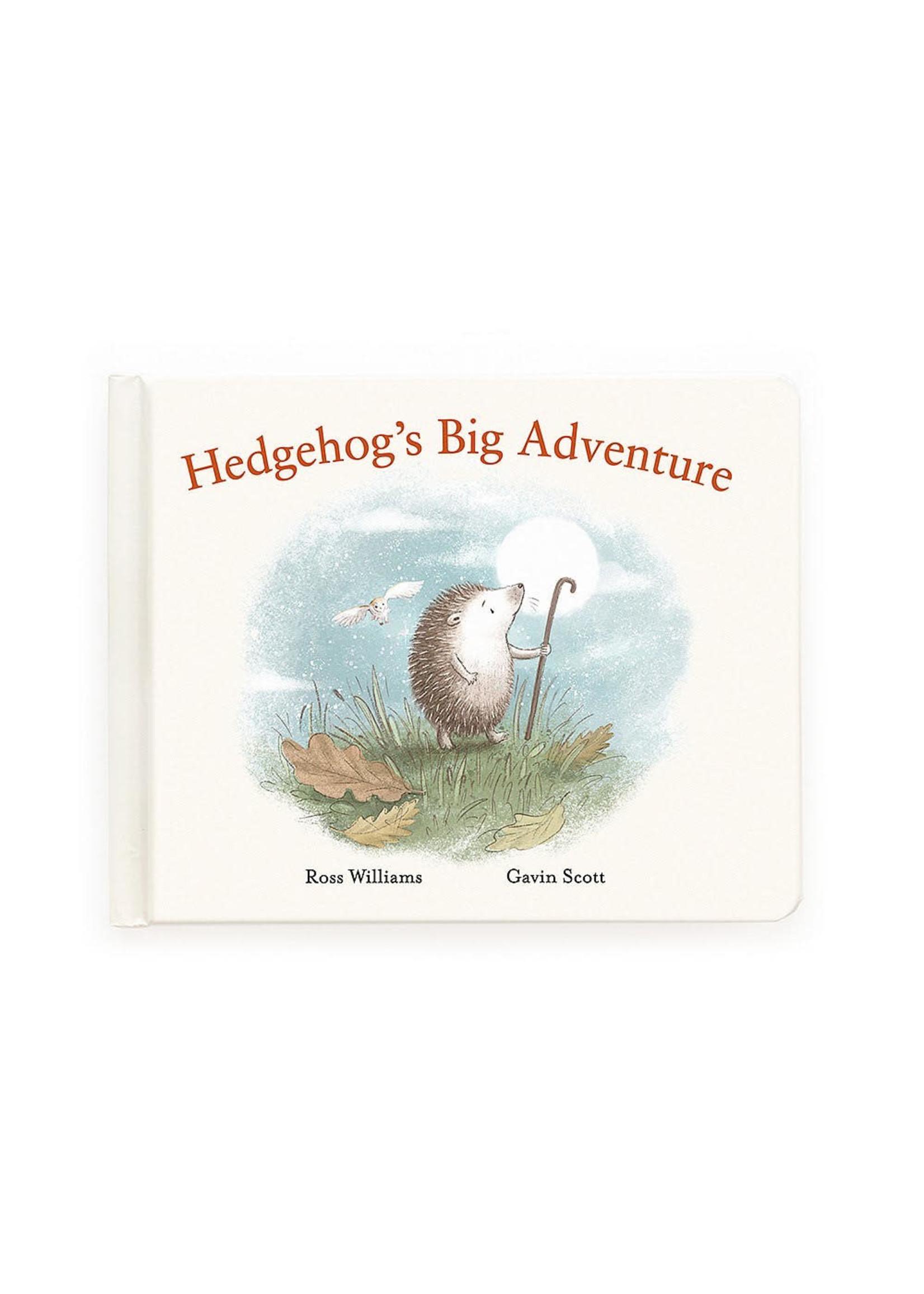 Jellycat JC Hedgehog's Big Adventure