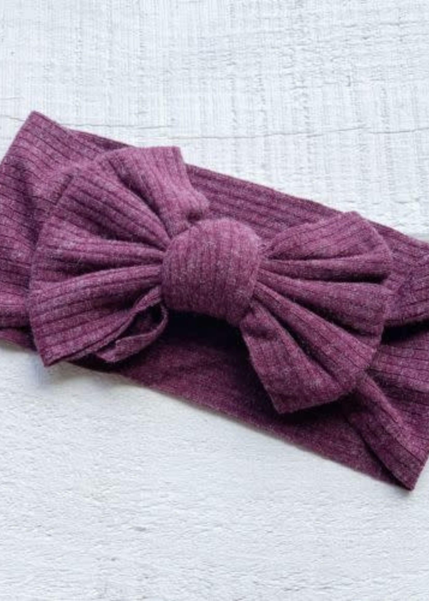 mini bretzel MB Headband (Sunflower Purple)