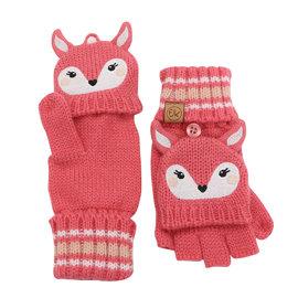 Flapjack Kids Knit Gloves (Deer)