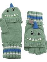 flapjack Flapjack Kids Knit Gloves (Dino)