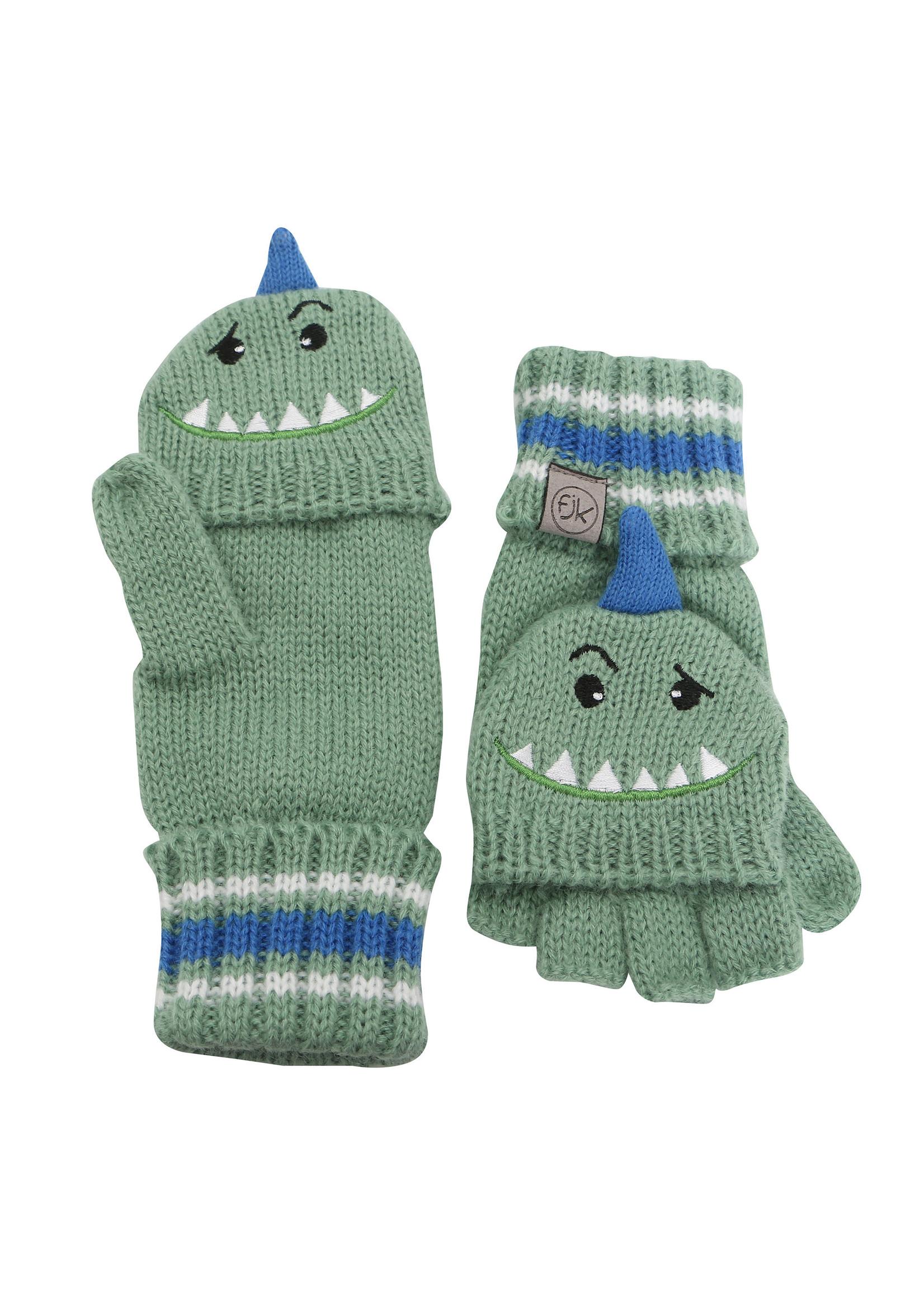 flapjack FJ Knit Gloves (Dino)