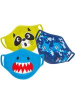 Zoocchini Zoocchini Face Mask (Shark 3pk)