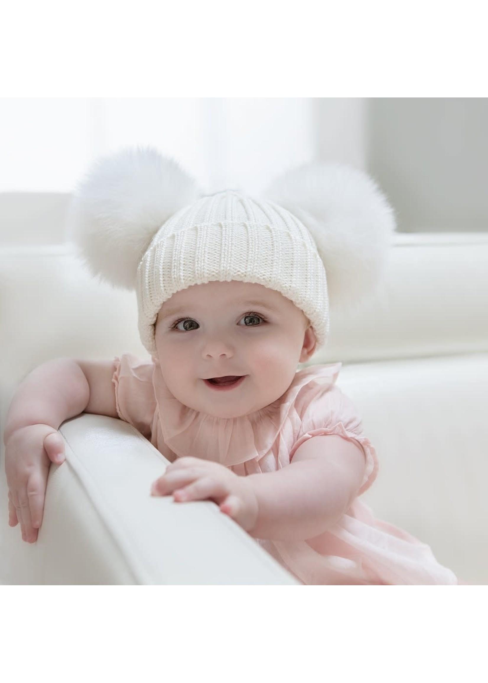 Olilia Double Pom Pom Hat