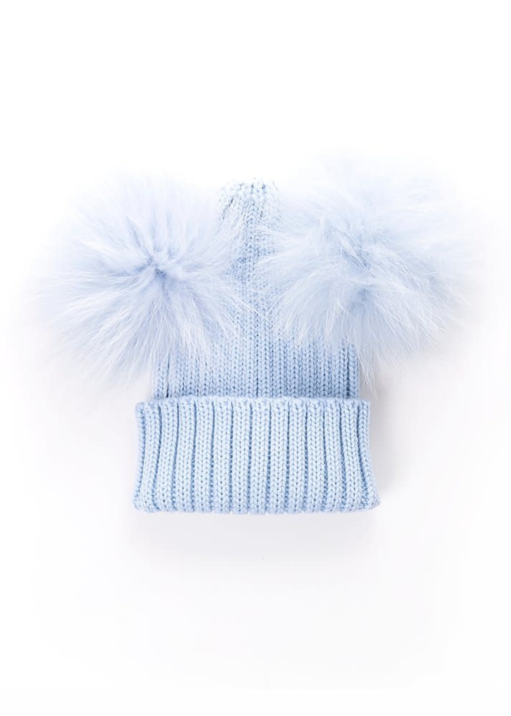olilia Olilia Double Pom Pom Hat