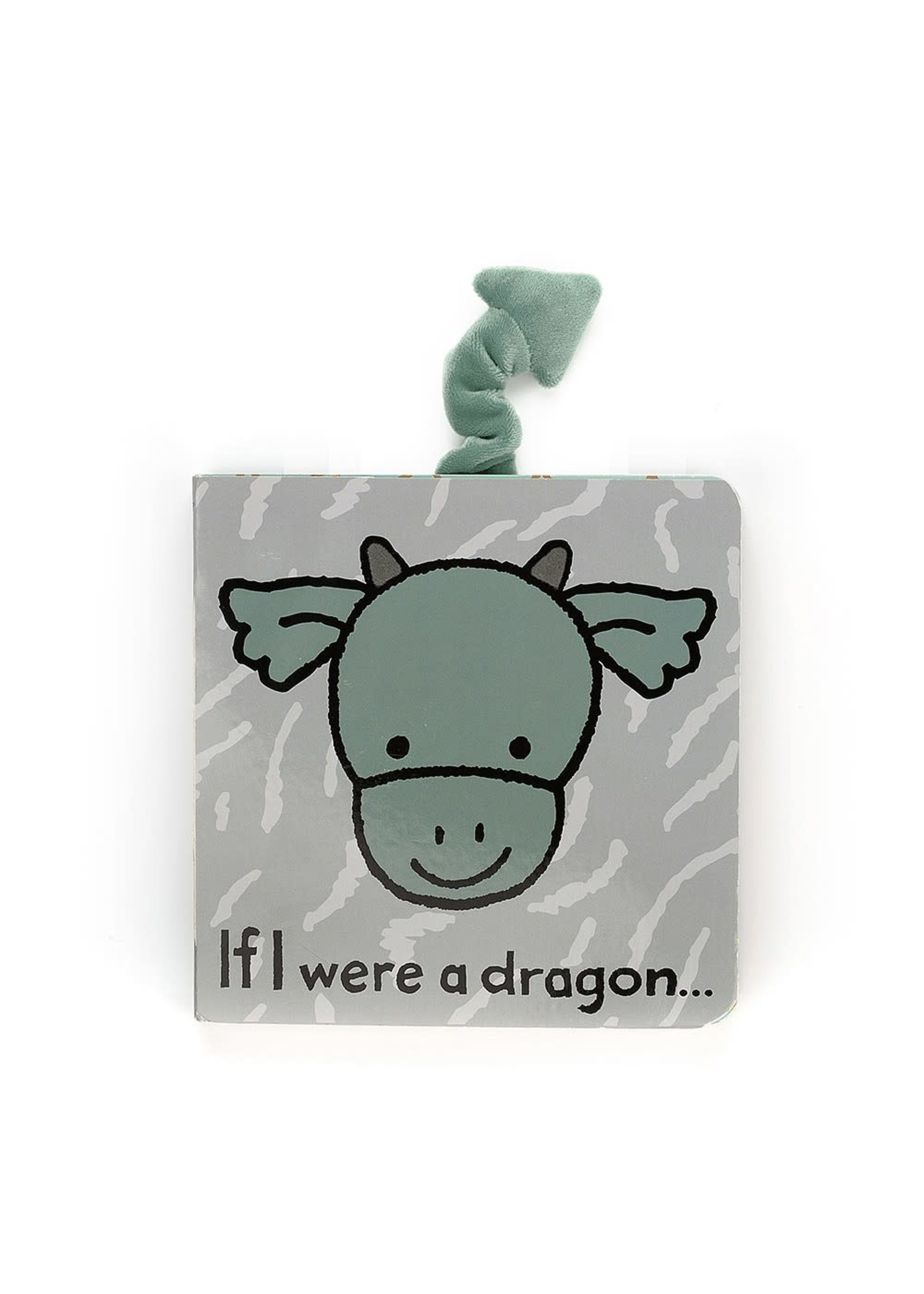 Jellycat JC If I Were A Dragon Book
