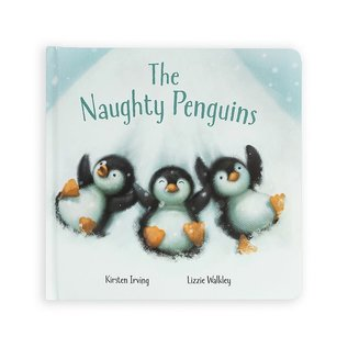 Jellycat JC The Naughty Penguins Book
