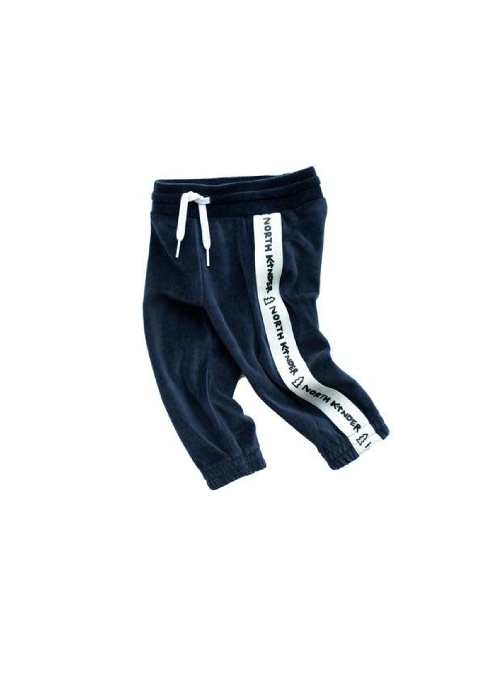 North Kinder NK Velour Jogger (Blueberry)