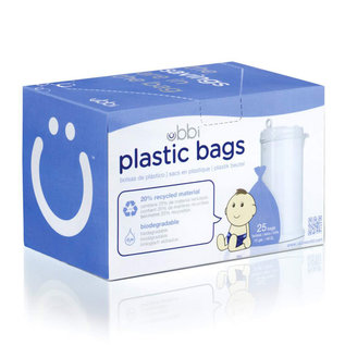 Ubbi Plastic Bags (25pk)