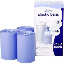 Ubbi Plastic Bag (75pk)