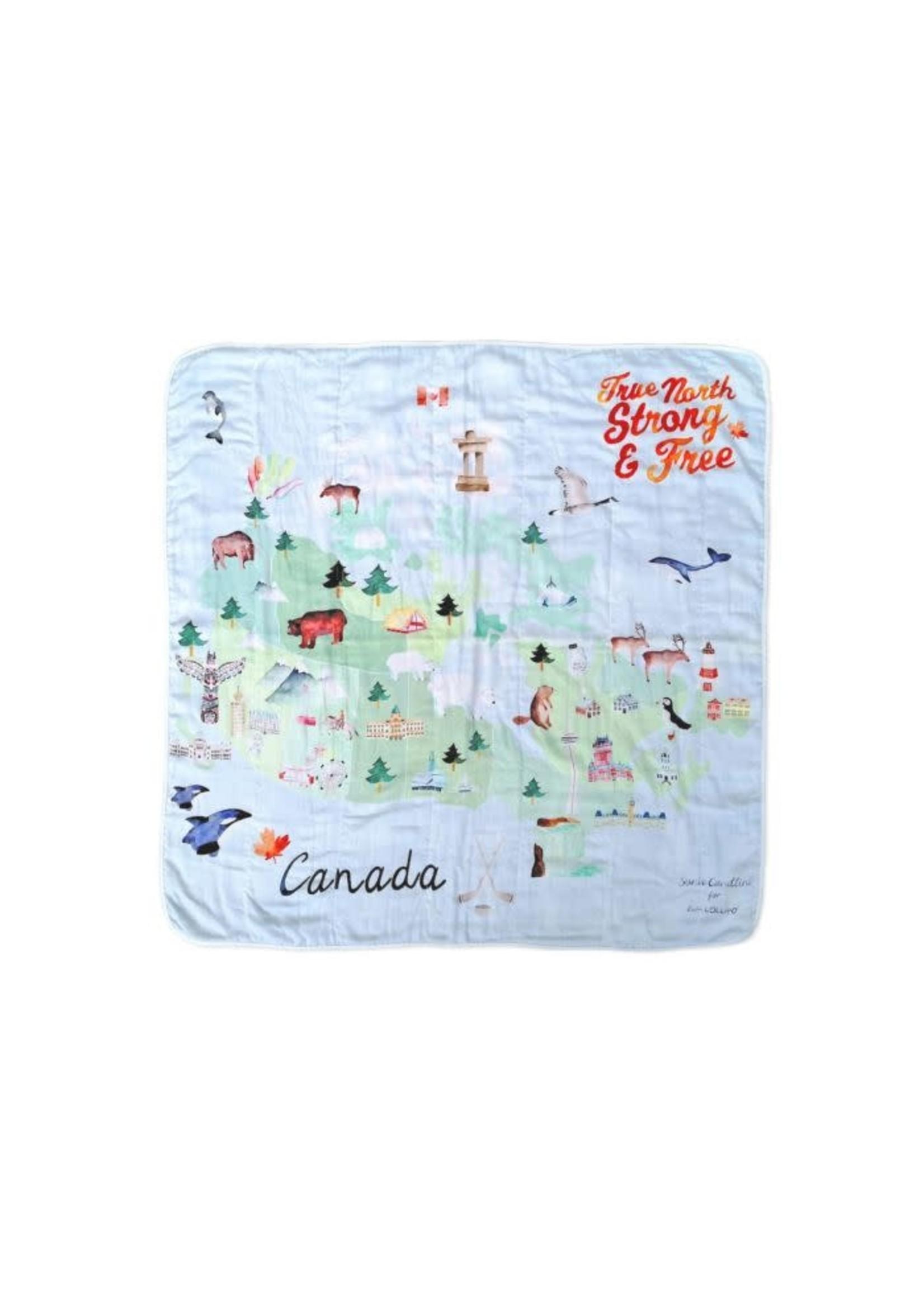 Loulou Lollipop Muslin Blanket (Canada)